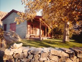 Willard's home in Lone Pine